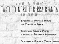 Tartufo Nero e Birra Bianca…con Porcini!