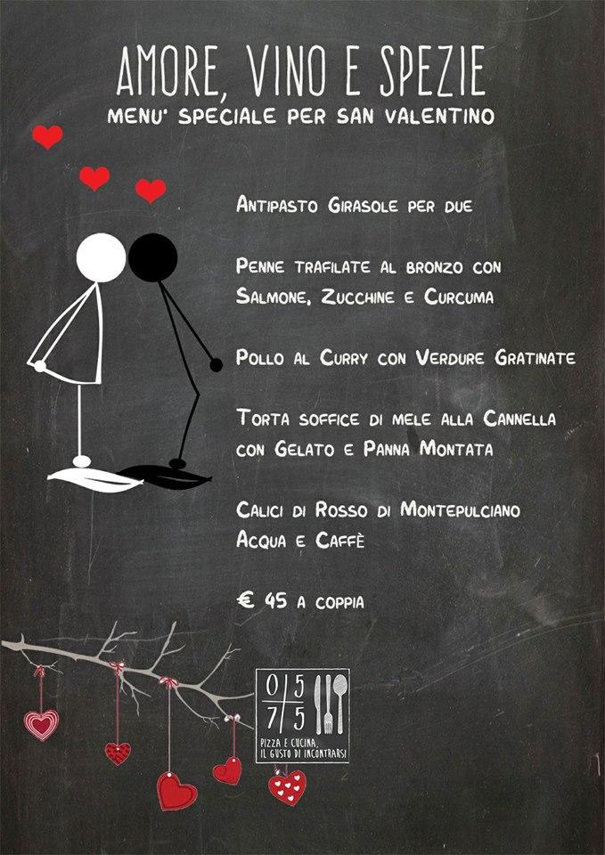 Amore, vino e spezie...San Valentino allo 0575